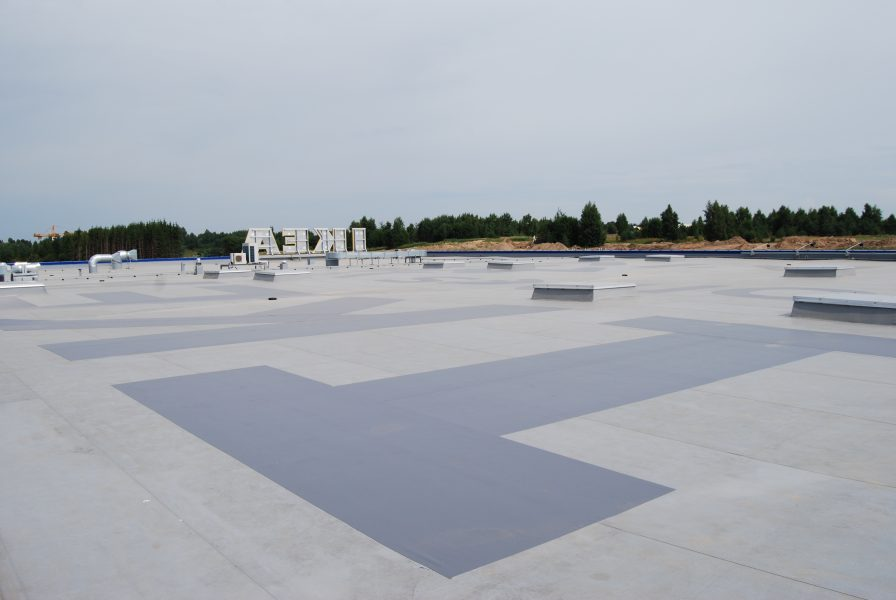 single ply PVC roof IKEA