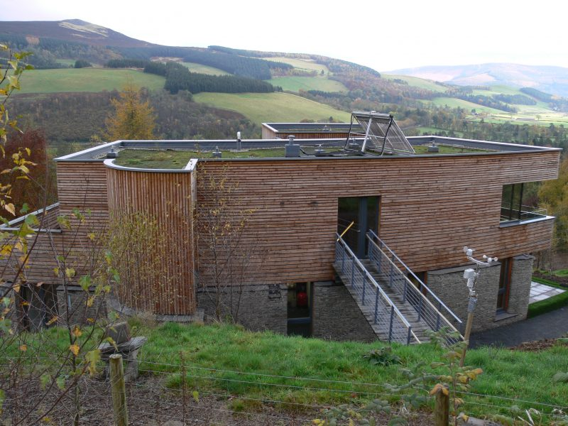 Green roof for residential property