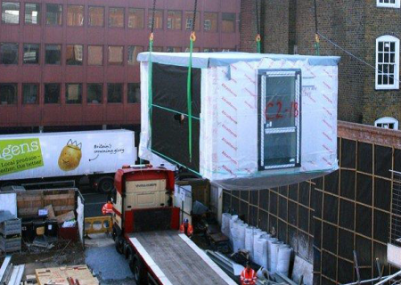 modular construction units