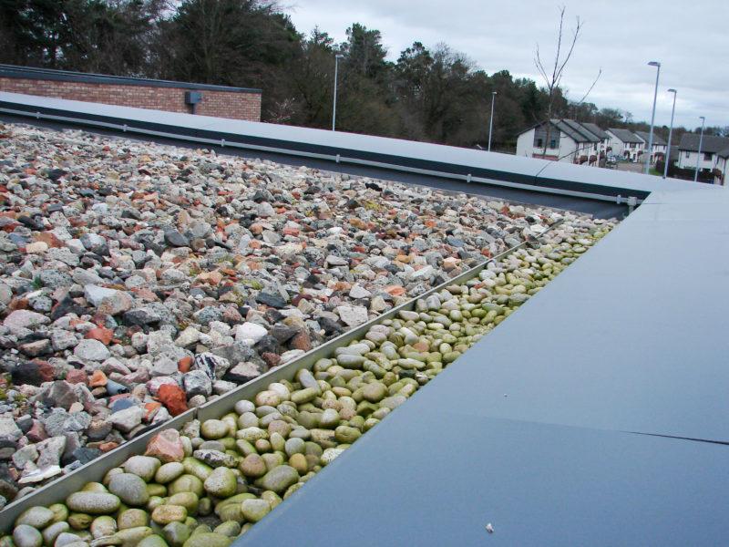 green roof corner details