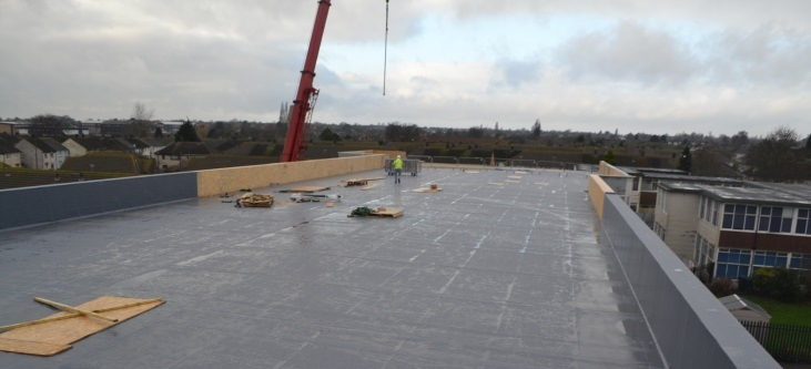 zero waste offsite manufactured roofing panel