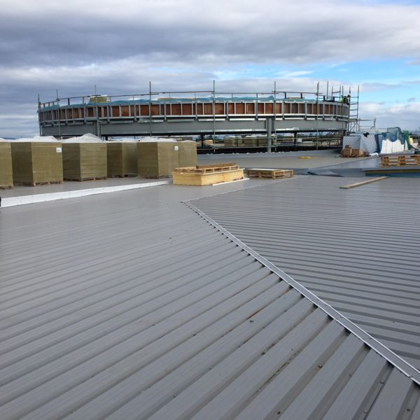 Single Ply Roof Installation : Premium single ply roofing for the first joint faith campus