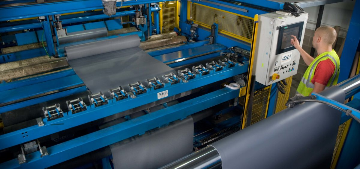 single_ply_production_line