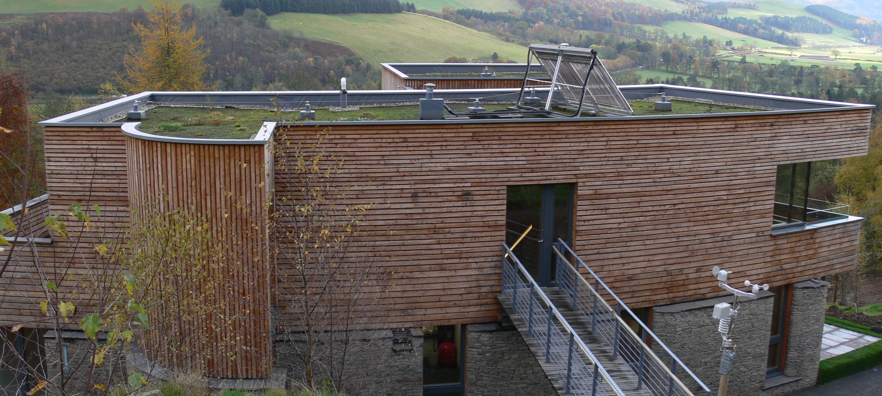 Plummerswood with RIBA Logo - Green Roof